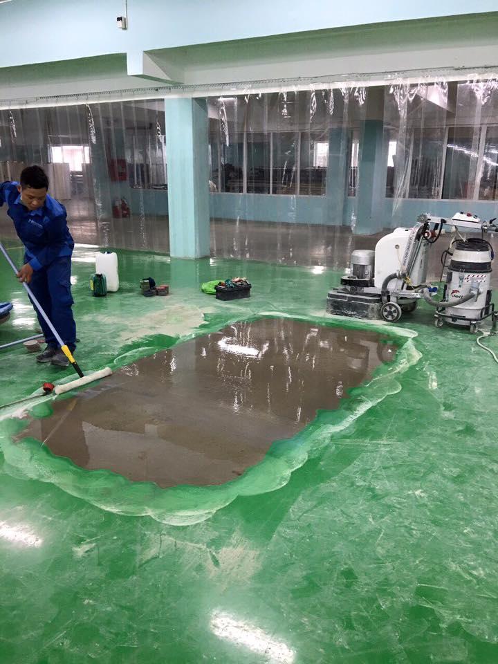 Dự án mài bóc sơn Nhà máy HONDA Việt Nam