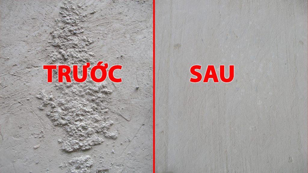 Thi công mài xử lý bề mặt bê tông tại nhà máy Luxshare-ITC Việt Nam